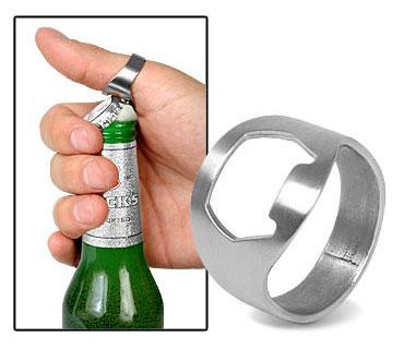 טבעת פותחן בקבוקי בירה