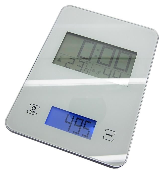 מבריק משקל מטבח מזכוכית | משקל מטבח דיגיטלי | משקל מטבח שעון קיר | משקל OI-36