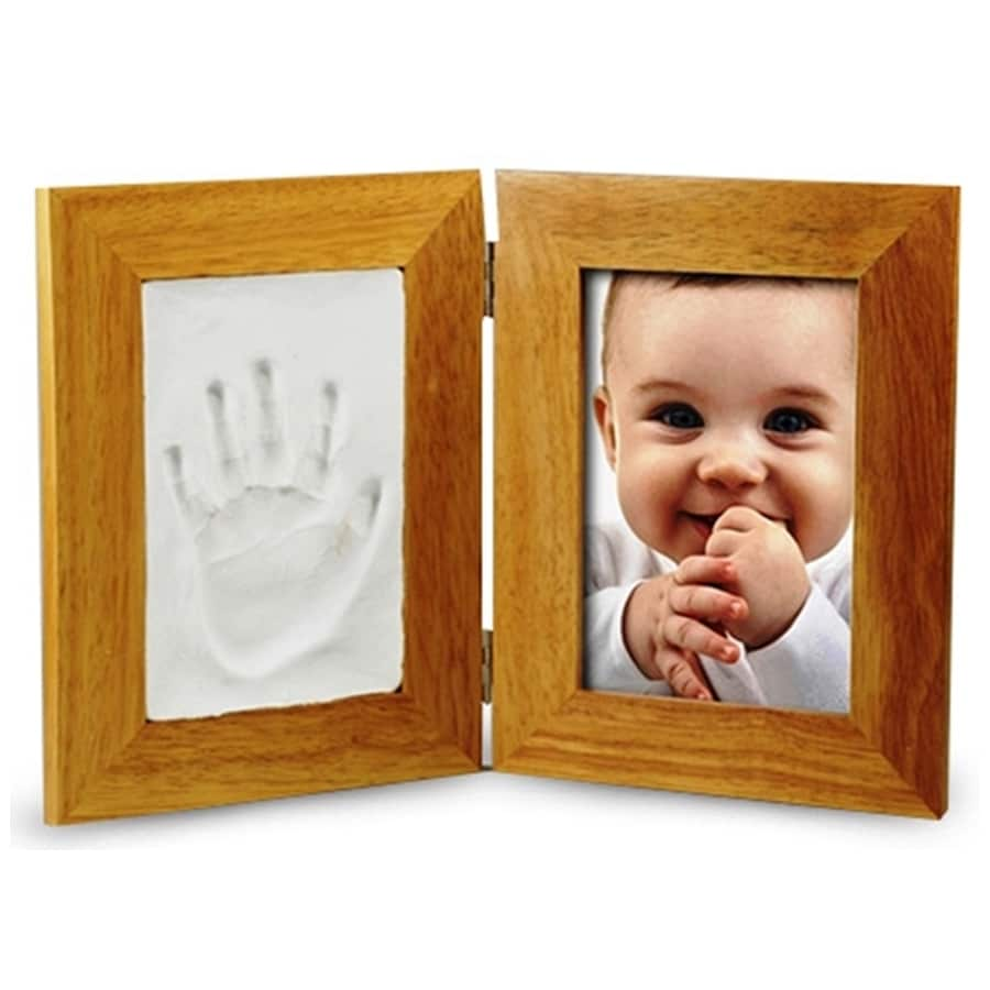 מסגרת מעץ הטבעת כף יד1 - 4